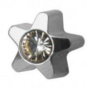 Žvaigždutė su krištolo akute R501W-4
