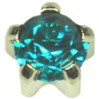 Su mėlyno (electric) cirkonio akute * (S) R112W